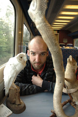Ben on the Train