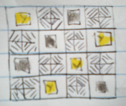 Picnic quilt plan