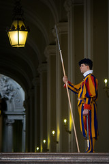 Swiss Guard (GaryJS ) Tags: city blue red portrait italy orange man pope vatican rome roma yellow standing uniform italia dress swiss military guard final soldiers jules michelangelo renaissance league champions spear pontifical papal ceremonial guardsman bodyguards blueribbonwinner halberd commandant garyjs repond wwwgaryjsphotographycouk