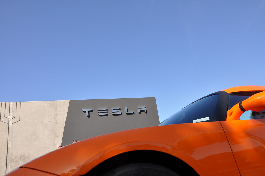 Tesla Roadster by e-connected, on Flickr