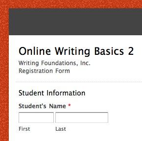 Ms B Registration
