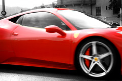 Ferrari 458 Italia (KuleliDesign) Tags: red black photography switzerland ferrari british selective 458 iralia kulelidesign