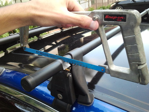 Installed Yakima Roof Rack Drive Accord Honda Forums
