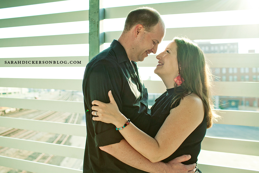 Freight House Kansas City engagement photographers