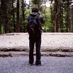 k (Kevin Tadge / Laura Lamp) Tags: 120 mamiya film japan analog shrine photographer ise mie 120mm rb67 jinge