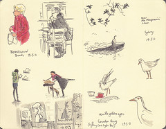 Page 03 (tanaudel) Tags: art moleskine illustration drawing sydney sketchbook page berkelouw