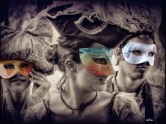 IL Carnevale (Alfonso Novillo) Tags: carnival venice light sea portrait people urban italy baby color colour art texture textura water canon photography photo amazing cool nice agua nikon europa europe italia mask gente natural background sony style carnaval format mascara fotografia carnevale venecia venezia tone venetia
