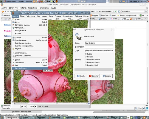 FlickrSave screenshot