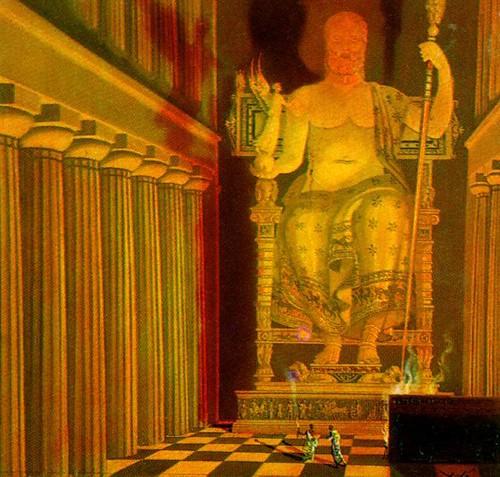 άγαλμα του Δία, πίνακας του Salvador Dalli