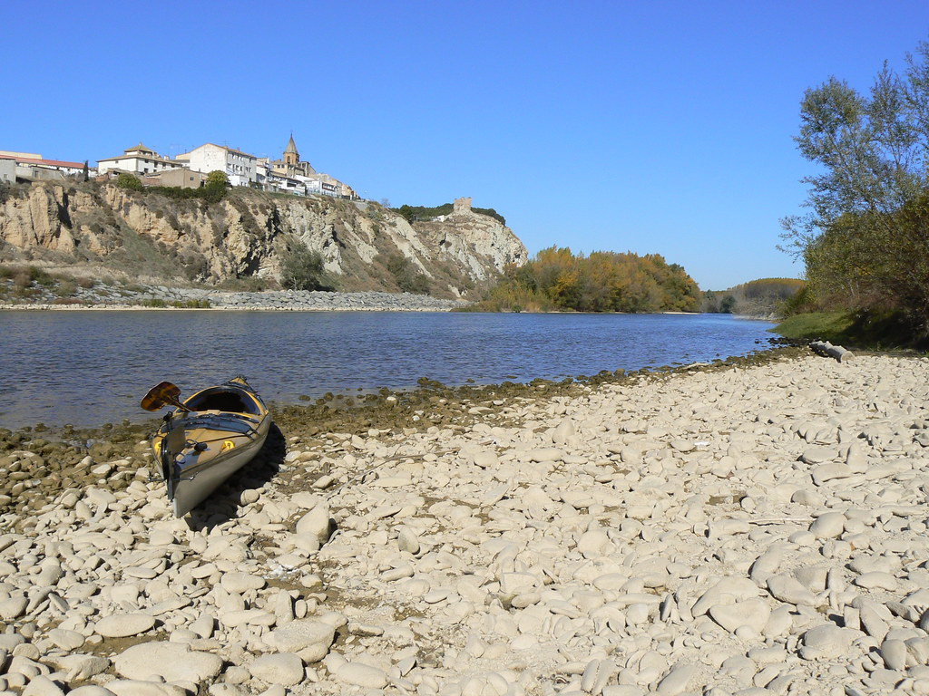 Río Aragón con el Arga en Otoño 001