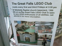 """The First Rule of Lego Club…"""