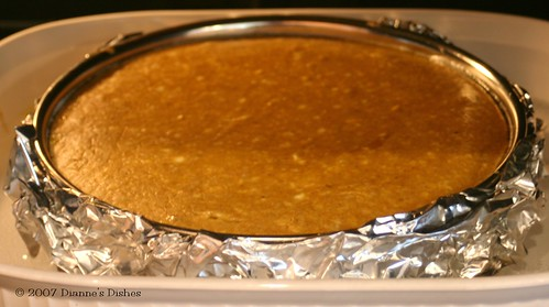 Pumpkin Cheesecake Resting