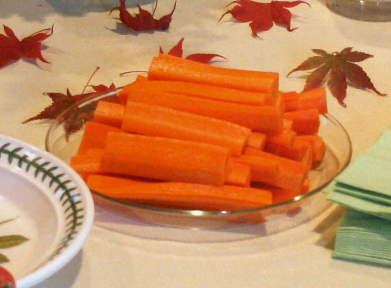 Japanese Carrot Sticks