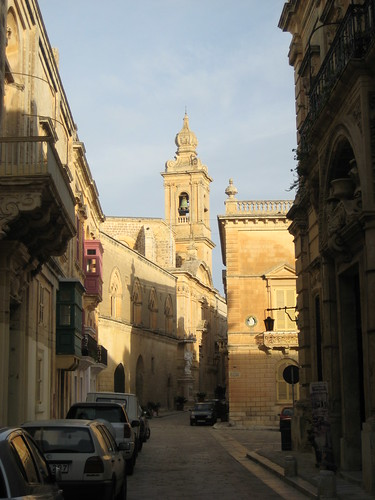 Sunrise over Mdina