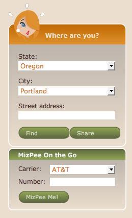 MizPee Portland Oregon