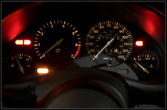 Vauxhall Corsa B - Speedometer (Daniel Hodson) Tags: uk b light england dan car night canon dark eos 350d long exposure flickr unitedkingdom daniel aib automotive peter dorset canon350d canoneos350d bournemouth freelance vauxhall hodson visualcommunication corsab hoddo artsinstitutebournemouth danielpeterhodson danielhodson theartsinstitutebournemouth dhodson wwwdanielhodsoncouk httpwwwdanielhodsoncouk