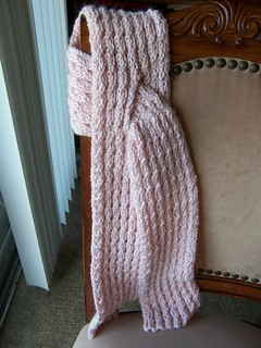 Ravelry Mock Cable Scarf Archived Pattern By Knitting