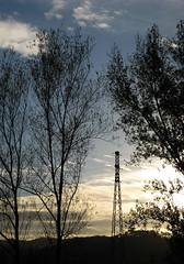 not like the others / color (clickykbd) Tags: travel trees light sunset sky italy clouds canon italia structure tuscany clickykbd powerline toscana borgo 2007 borgosanlorenzo sd1000 sopahide