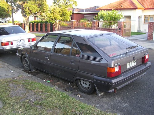 The Mighty Citroen BX-TRI - my first (and now dead) car!