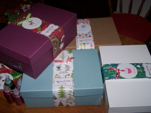 Xmas Cookie Boxes