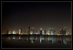 Doha\'s developing skyline