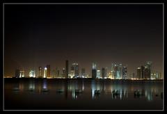 Doha's developing skyline