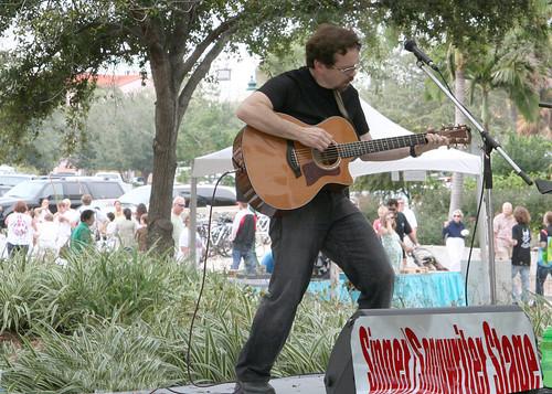 Bud Buckley plays Sarasota Arts Fest, '08