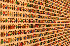 Legomania (wireguy) Tags: vacation color men wall orlando lego florida disney downtowndisney 50thaniversary legomania