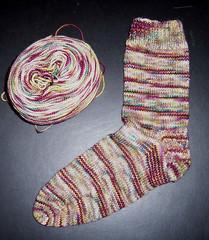 Plucky Knitter - Sock1
