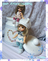 Cookie Jar (☆Esthy & Lulla☆) Tags: white yellow doll lea belle bjd dollfie articulated tanned poupée latidoll lati