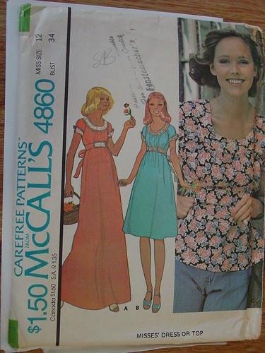 Vintage McCalls 4860