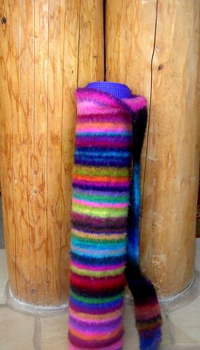 Ravelry: Felted Yoga Mat Bag pattern by Joelle Hoverson