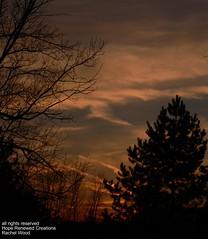 sunset in progress 2 (hoperenewed) Tags: trees sunset sky clouds michigan lansing etsy dsm anawesomeshot hoperenewed castteam designingswankymom