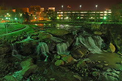 Reedy Falls Night