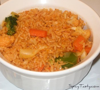 Chinese Veggie Fried Rice