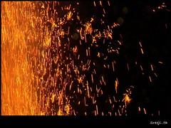fire (sreeji..) Tags: light net festival night fire photography photo photos sony celebration spark dsc h7 sreejith inapp wwwsreejicom thaliparamba  sreejinet kenoth