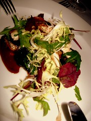 Warm Salad of Guinea Fowl and Fig