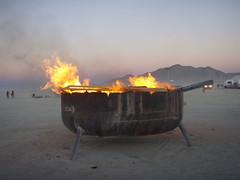 BM 07:  Burn barrel (a3rynsun) Tags: barrel burningman burn bm 2007