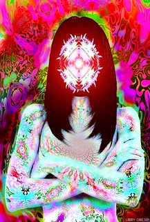 LARRY CARLSON, THE MAJESTIC SISTER VORTEX 4, digital photography, 2009.