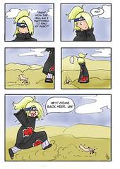 Naruto shippuuden deidara comic