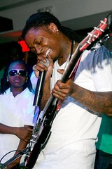 lil wayne getting his wyclef on