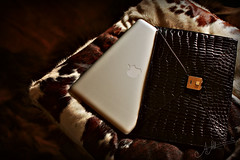 Luxury .. (A.A.A) Tags: brown 3 apple photography mac laptop air exotic envelope crocodile aaa loveu amna croco irresistible althani macbookair exoticleather amnaaalthani tstahlinakthrilshea5a
