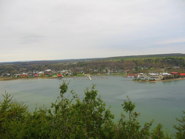 Gore Bay from the Bluffs