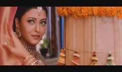 Aishwarya (Indari) Tags: blue portrait orange woman cinema green beautiful beauty de eyes dress indian traditional clothes most bollywood khan 1994 missworld rai ki aishwarya bachchan tikka bindi salman hum bangles aankhon dil sanam chuke