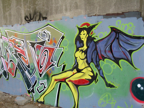 Art Under Eglinton (3): Batwoman
