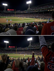 no hitter (richietown) Tags: topv111 boston canon pod topv333 diptych baseball no massachusetts redsox fenway fenwaypark mlb 30d bostonist sigma1020mm hitter nohitter jonlester richietown