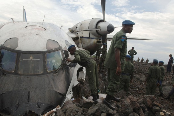 DRCONGO-AVIATION-CRASH