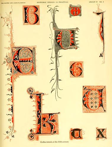 19- Iniciales goticas del siglo XV
