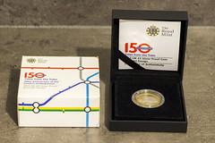 London Underground 2013 UK £2 Silver Proof Roundel Design Coin (Tetramesh) Tags: tetramesh london england britain greatbritain gb unitedkingdom uk transporthistory londonunderground tfl londontransport tube thetube metro theroyalmint coin roundel