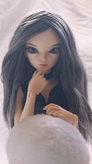 Astrid (Ailleon) Tags: astrid minifee theia rheia fairyland outfit greyhair wif formydoll cute custom custombyyuzuchan yuzuchan byyuzuchan